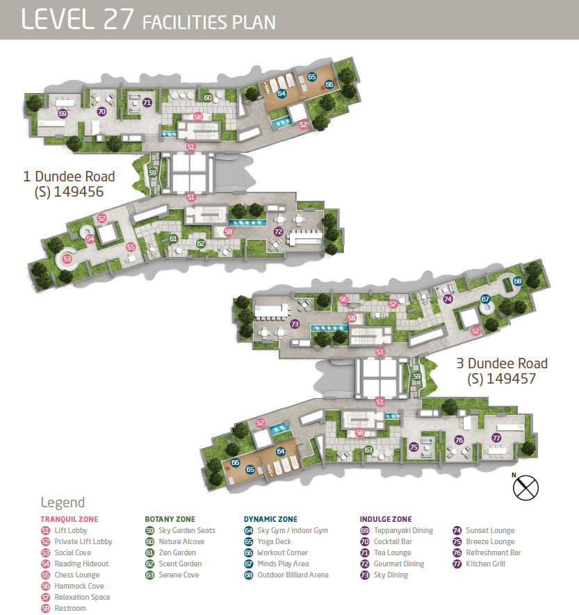 Queens Peak Showflat Site Plan